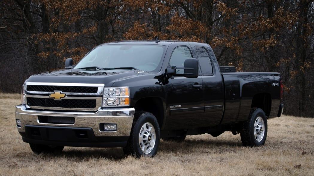 2013 Chevrolet Silverado bi-fuel
