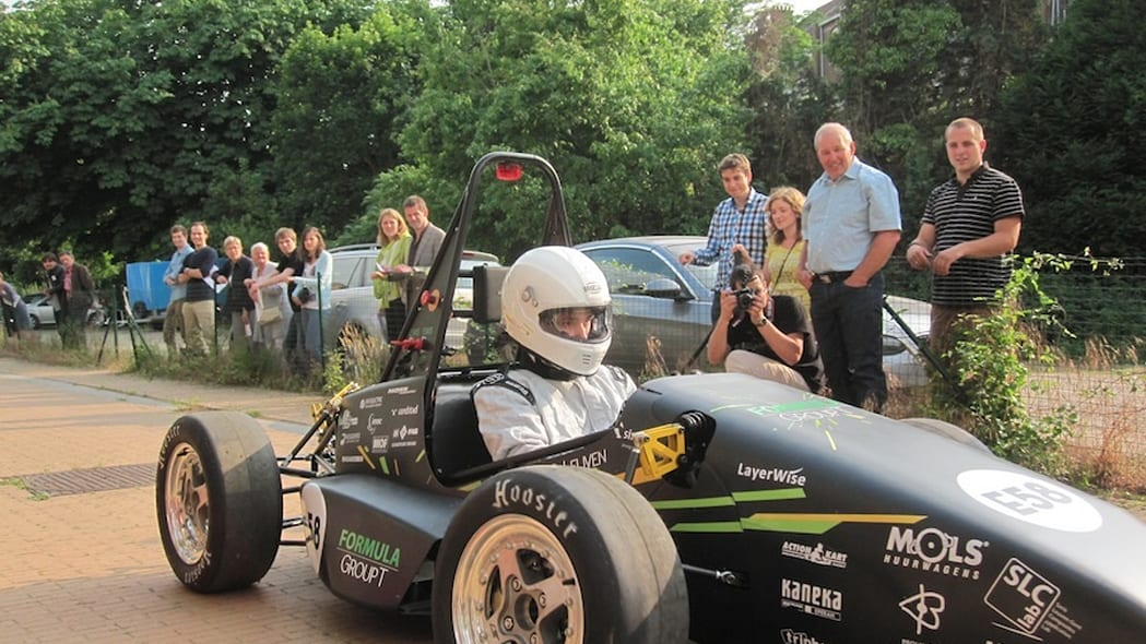 Areion 3D printed electric racer