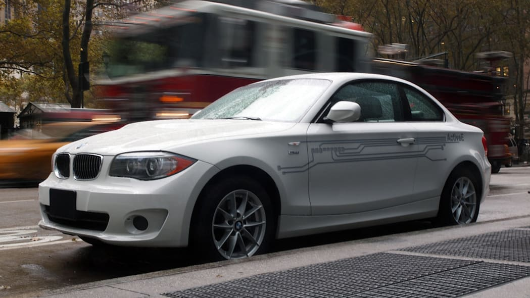 BMW i Born Electric Tour stop in NYC Active E
