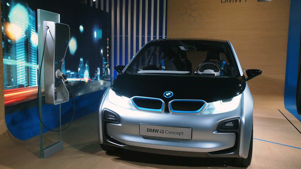 BMW i Born Electric Tour stop in NYC i3