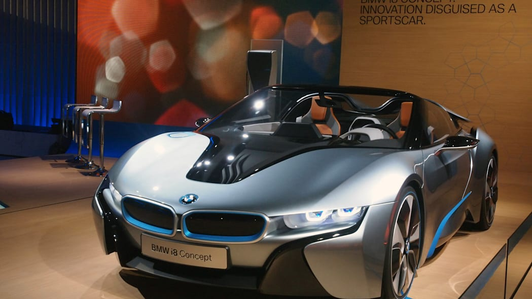 BMW i Born Electric Tour stop in NYC i8