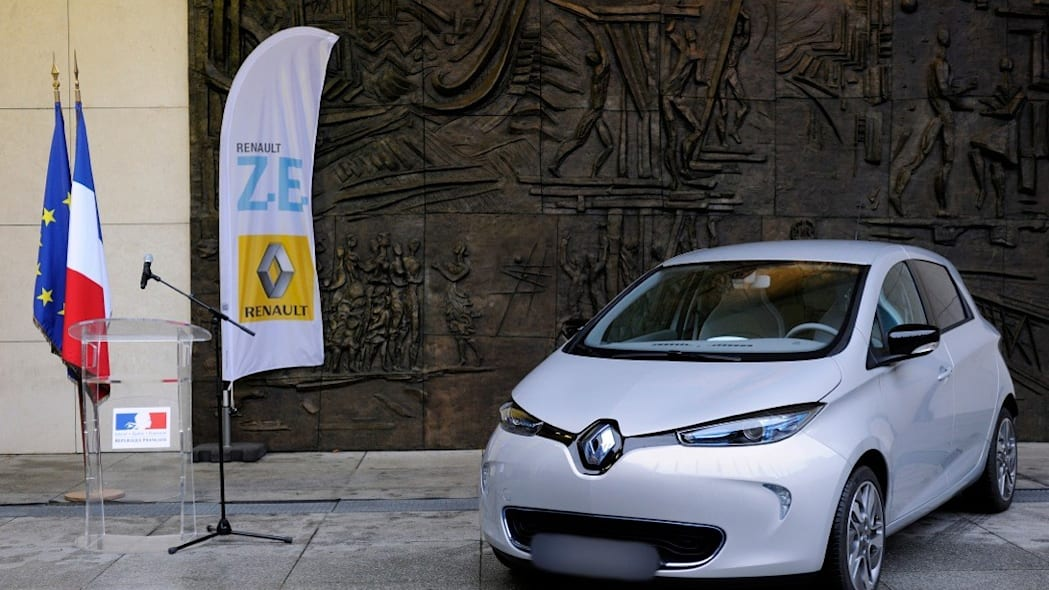 Renault Zoe first delivery