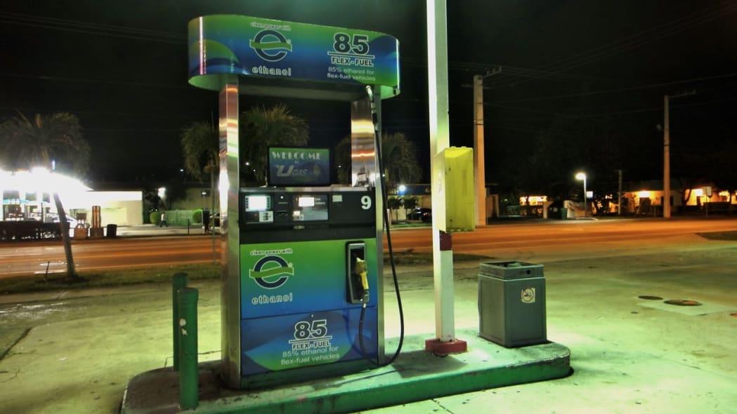 e85 ethanol station