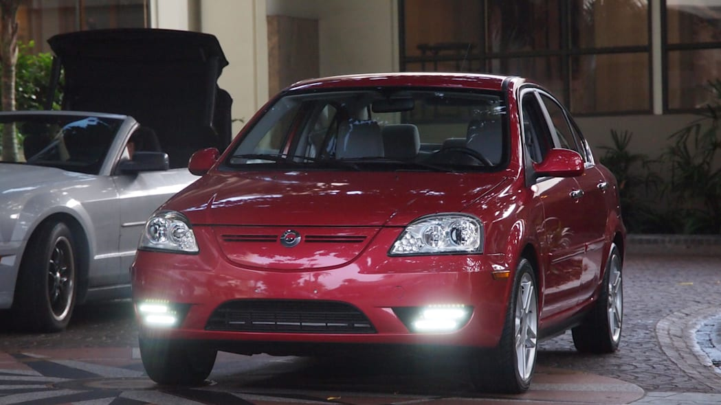Coda Sedan Electric Vehicle