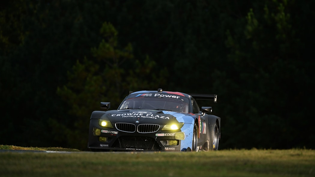 Petit Le Mans Auto Racing (Jorg Muller, of Germany, drives the BMW Team RLL Z4 GTE during the American Le Mans Series' Petit Le Mans auto race at Road Atlanta, Saturday, Oct. 19, 2013, in Braselton, G