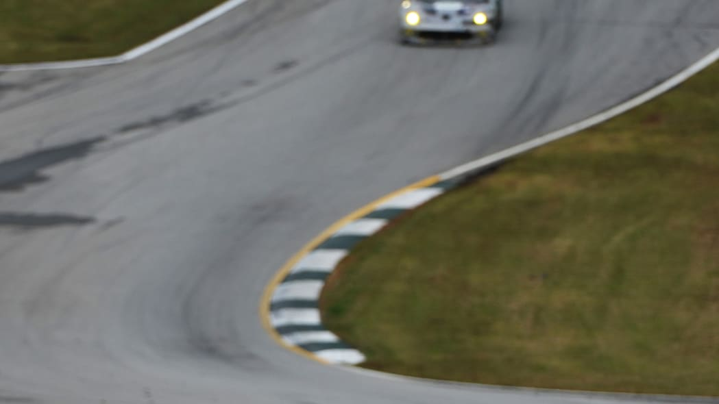 Petit Le Mans Auto Racing (Katherine Legge (0), of England, drives the DeltaWing during the American Le Mans Series' Petit Le Mans auto race at Road Atlanta, Saturday, Oct. 19, 2013, in Braselton, Ga.