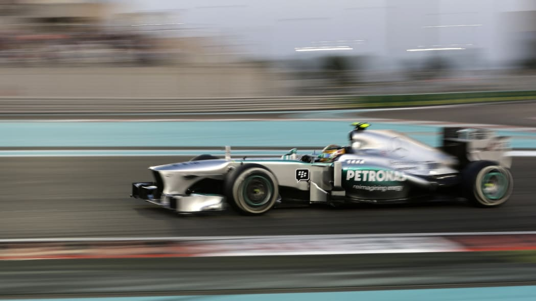 Mideast Emirates F1 GP Auto Racing