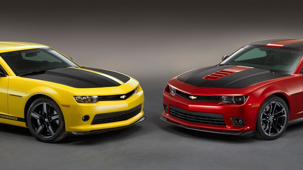 Chevy Performance V6 and V8 Camaros