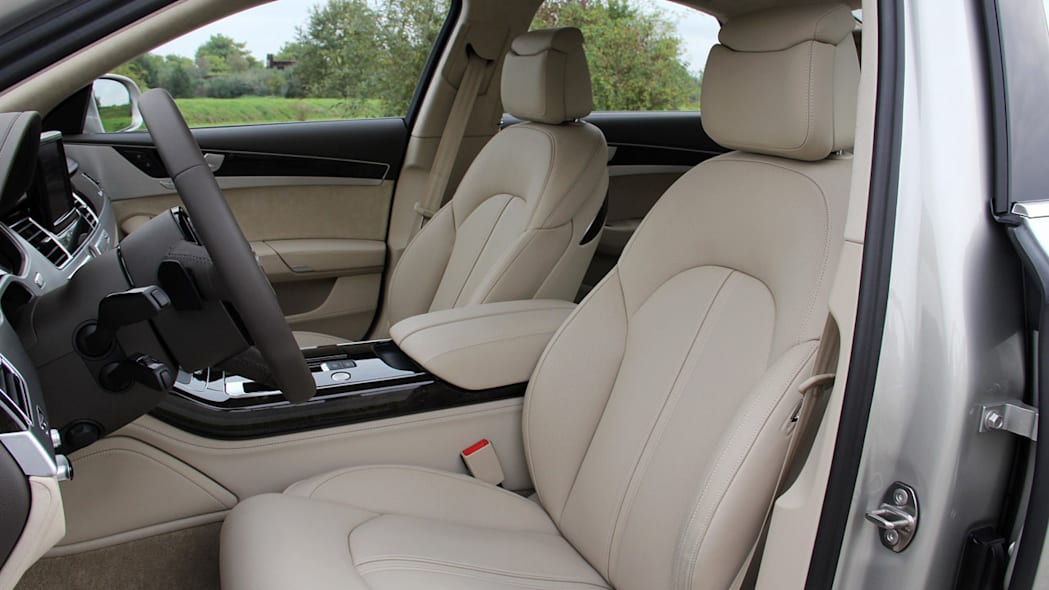 Massaging Seats -- Audi A8, $4,000
