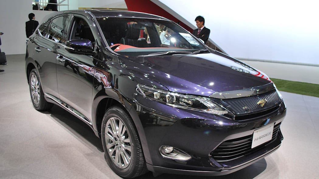 Toyota Harrier gets a whale of a facelift [w/video]