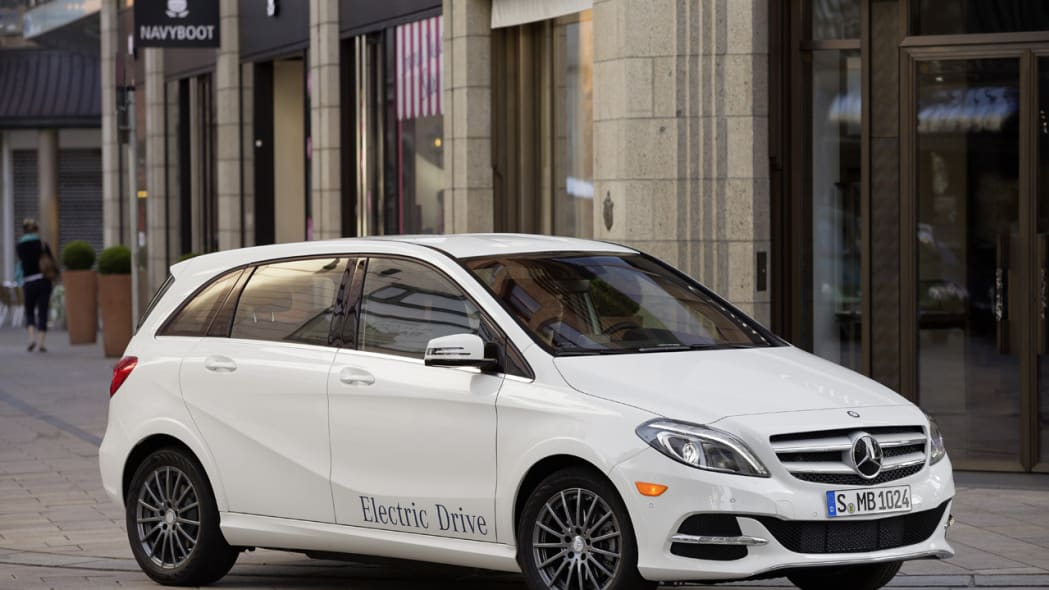 2014 Mercedes Benz B Class Electric Drive Oct 29 2013