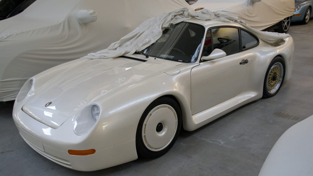 "The original Porsche 959 ""Gruppe B"" Concept that was displayed at the 1983 Frankfurt Motor Show"