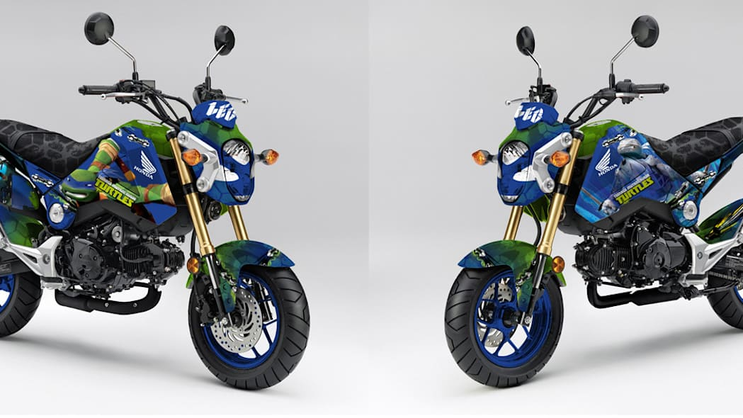 Honda Grom Ninja Turtles