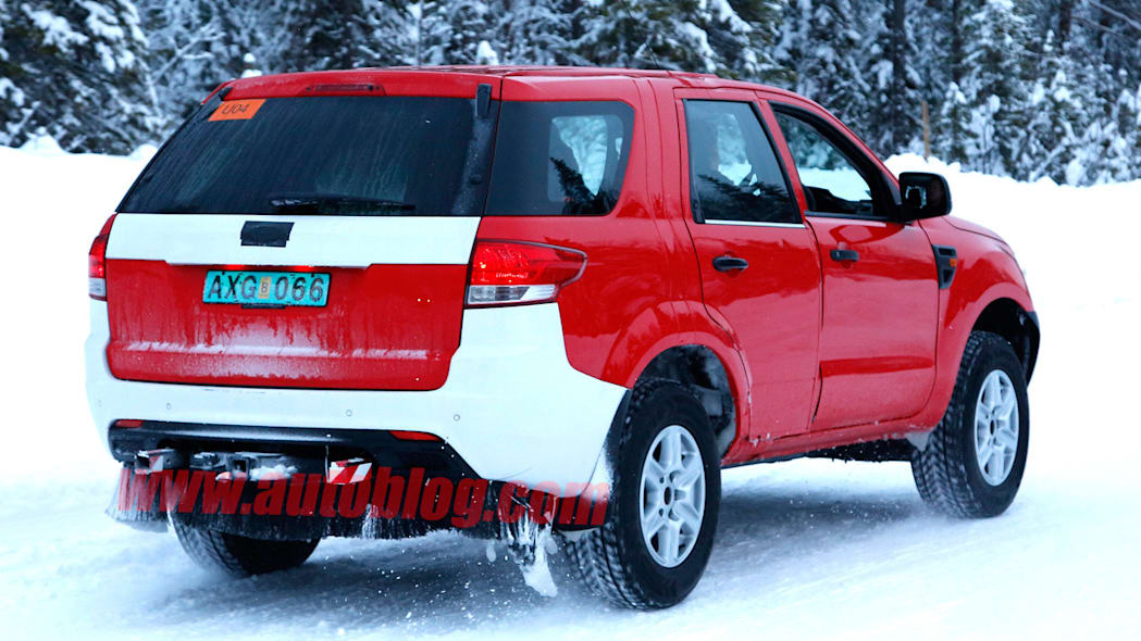 Ford Everest: Spy Shots Photo Gallery