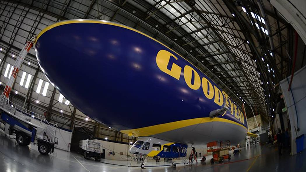 Goodyear launches massive new blimp, needs your help naming it [w/videos]