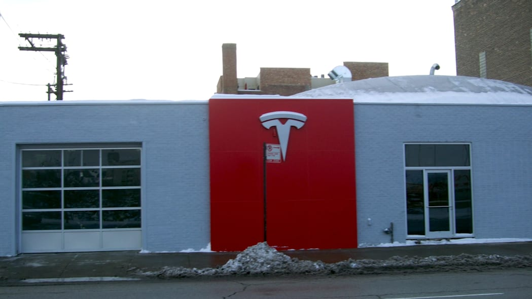 New Tesla Motors store