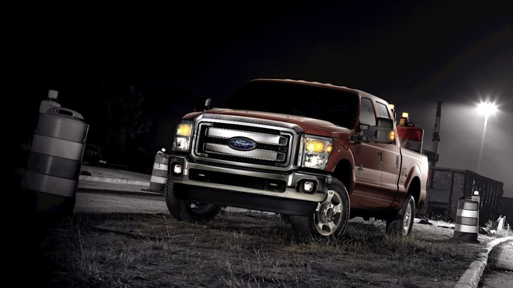 Ford F-350 in rust
