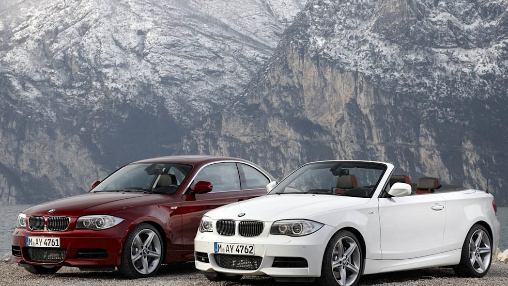 BMW 1 Series Coupe and Convertible