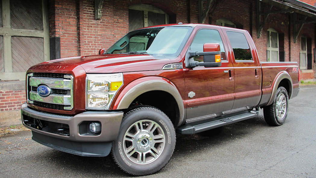 2015 Ford F-Series Super Duty Power Stroke First Drive