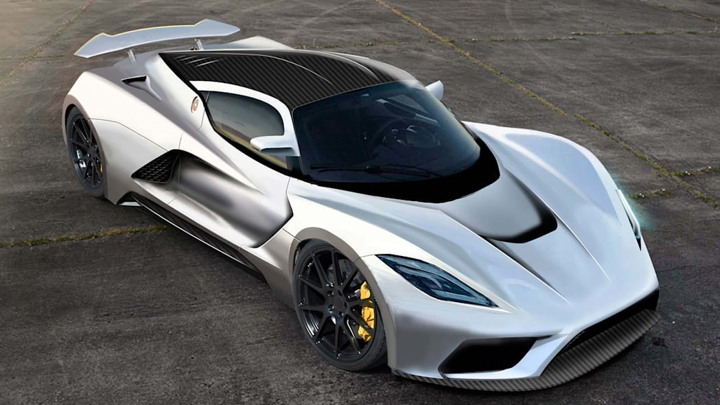 Hennessey Venom F5 to gun for 290 mph with 1,400 horsepower