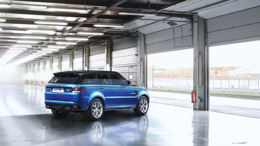 2015 Range Rover Sport Svr Unleashed With 550 Hp For