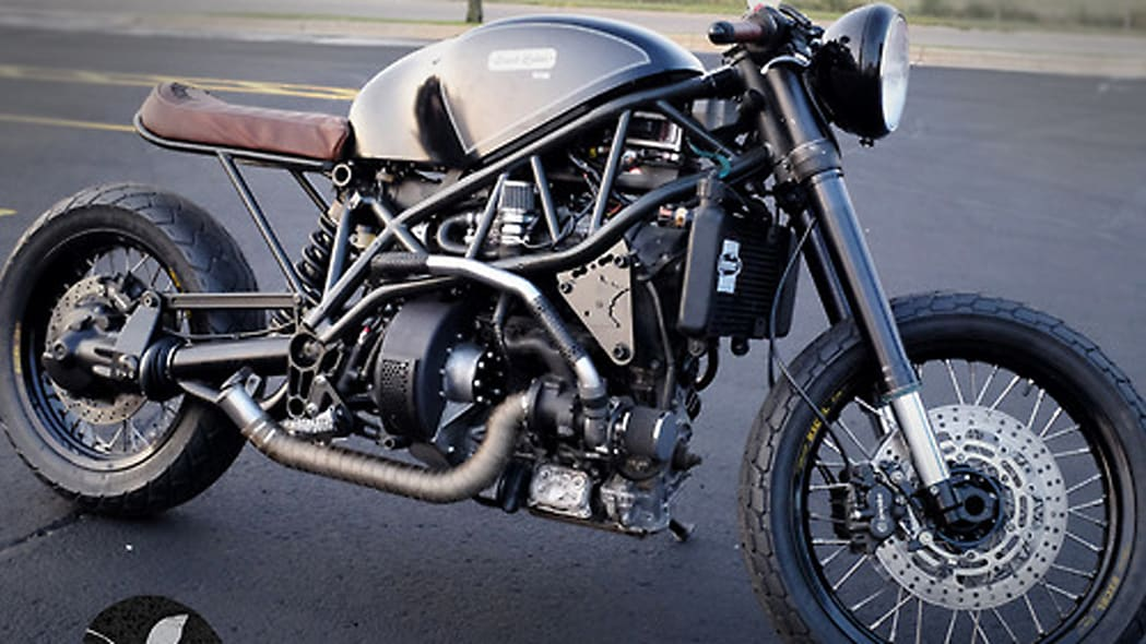 Bacon-powered motorcycle by Hormel criss-crossing the States, smelling delicious [w/videos]