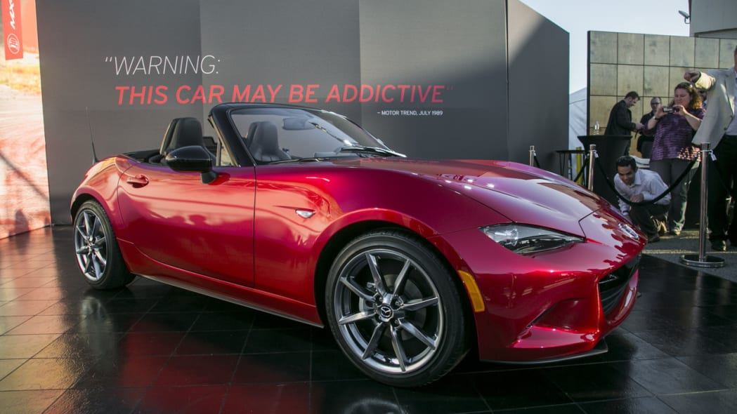 The 2016 Mazda MX-5 Miata reveal