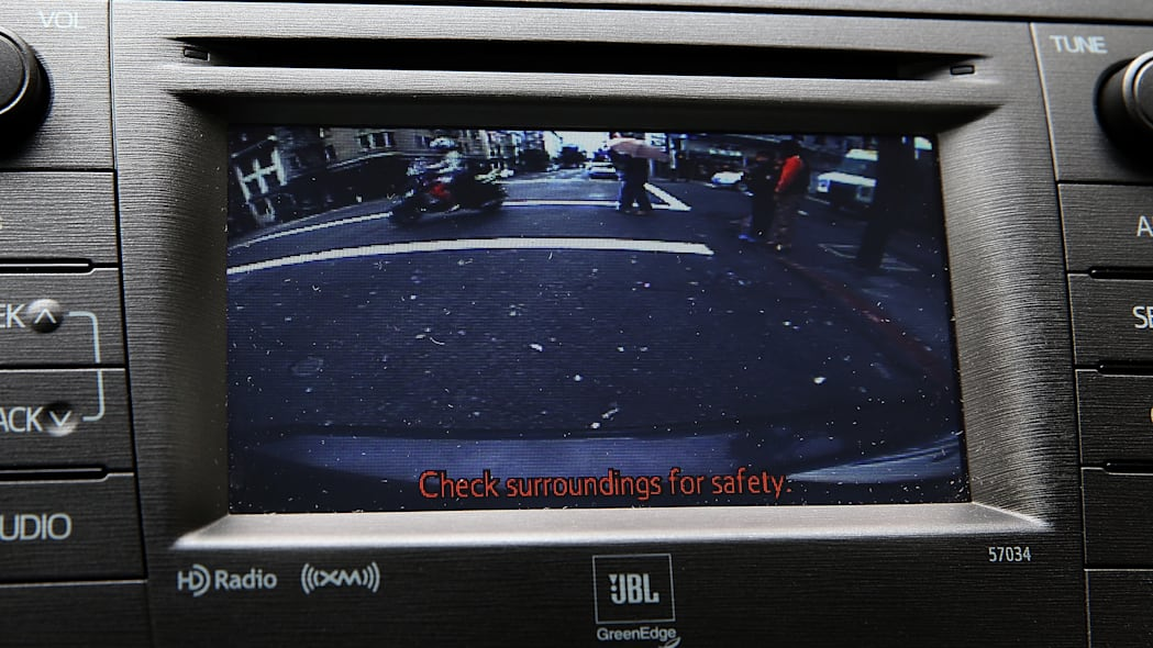 Nice to have: Back-up camera