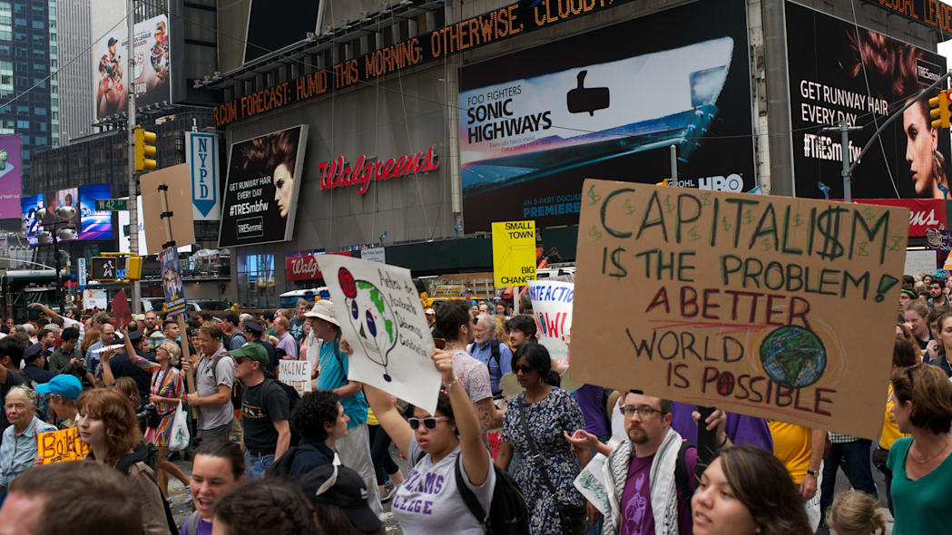 NYC People's Climate Justice March 9/20/2014 A Better World
