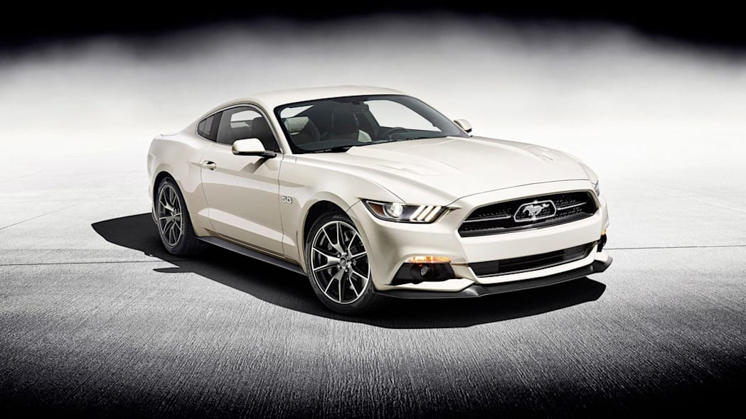 2015 Ford Mustang 50th Anniversary Edition #1,964