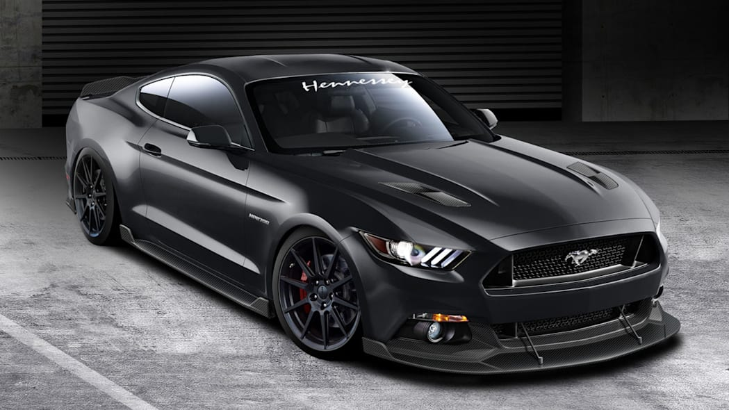 Hennessey unleashes 2015 HPE700 supercharged Ford Mustang
