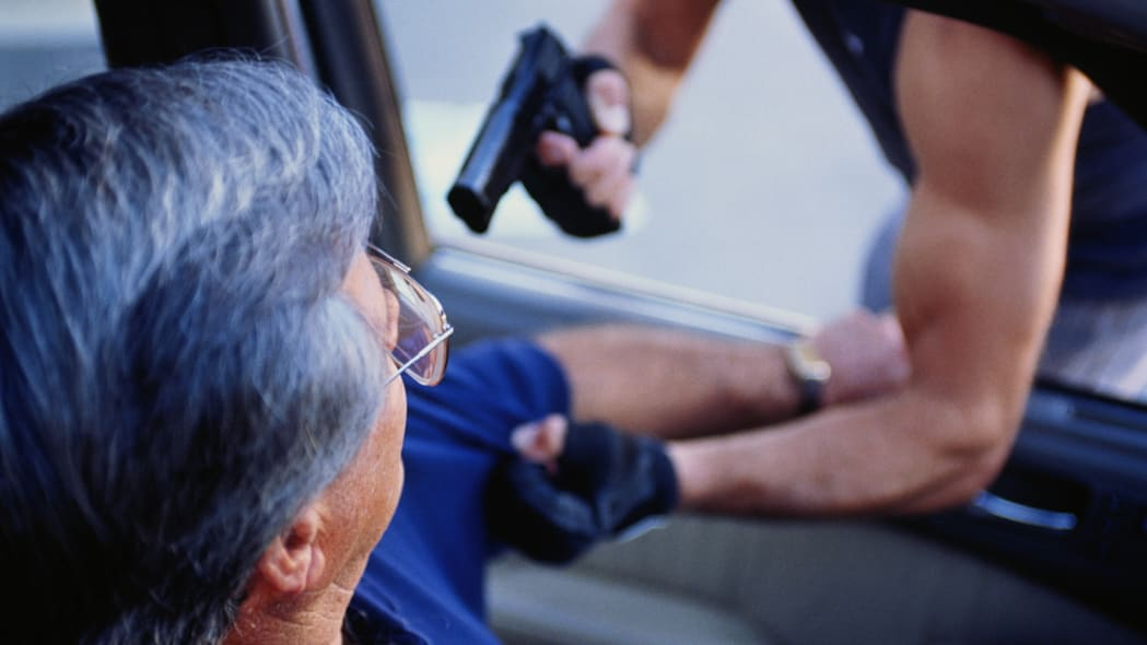 Carjacker in or around your car