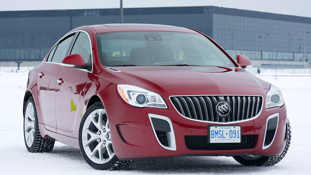 3. 2014 Buick Regal GS