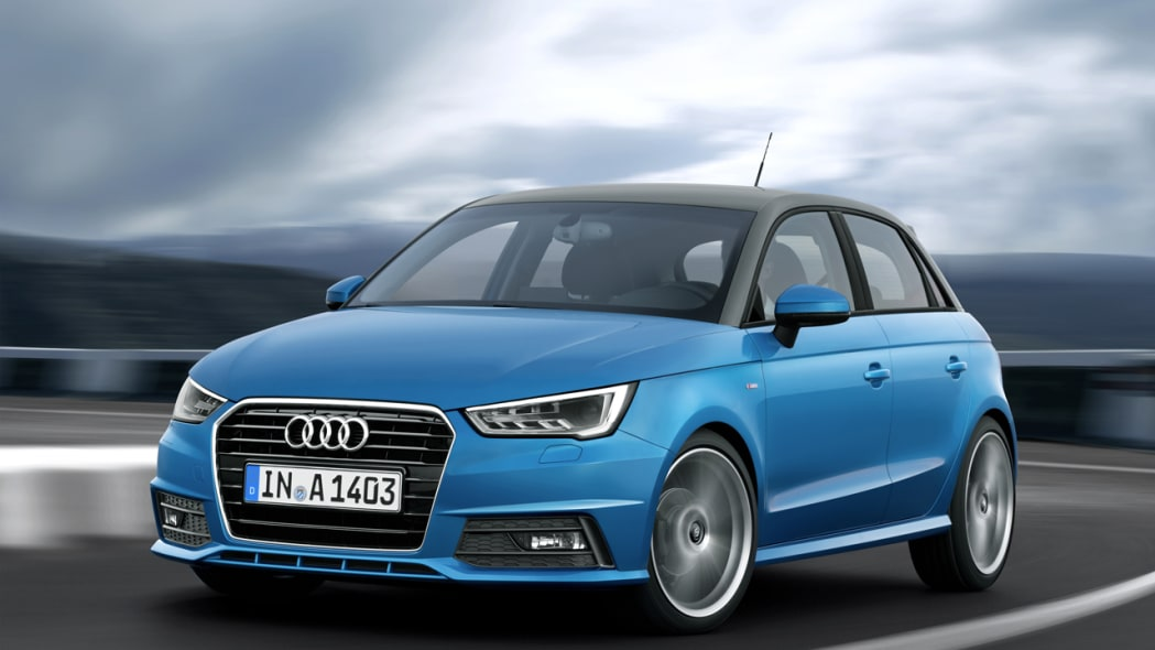 Refreshed A1 packs Audi's first three-cylinder gas engine [w/video]