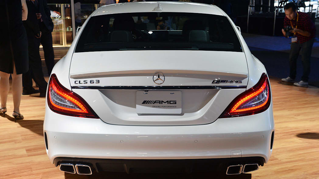2015 Mercedes-Benz CLS63 AMG S 4Matic stands out in the LA ...