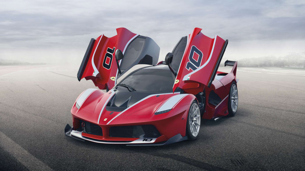 Ferrari reveals LaFerrari-based FXX K in Abu Dhabi