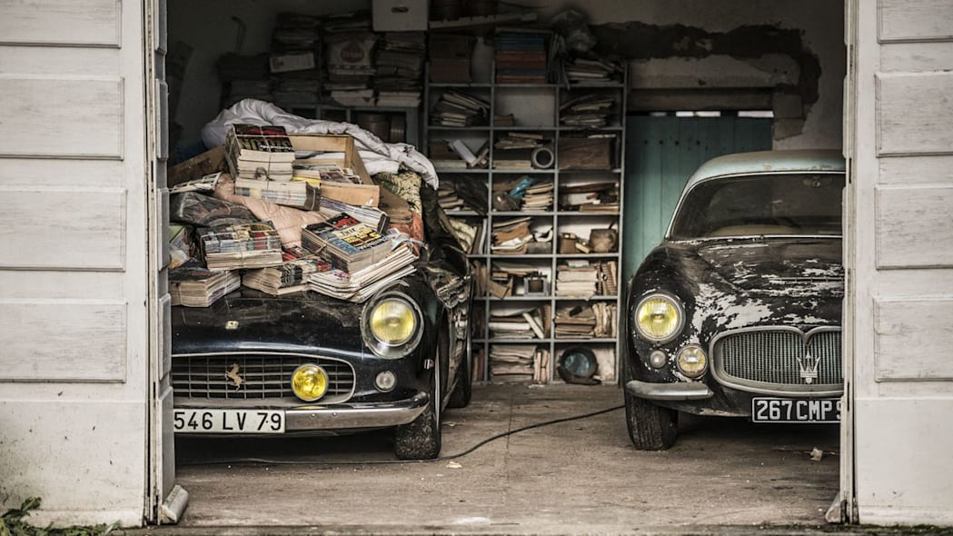 Incredible French barn finds could fetch over $18M [w/video] - Autoblog