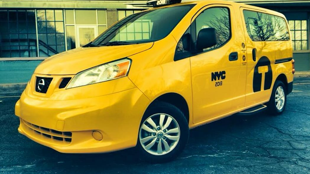 2013 Nissan NV200 Taxi