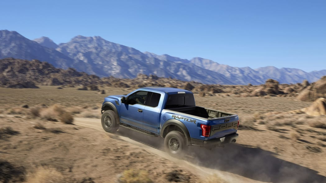 2017 Ford F-150 Raptor Pickup Truck Off-Road