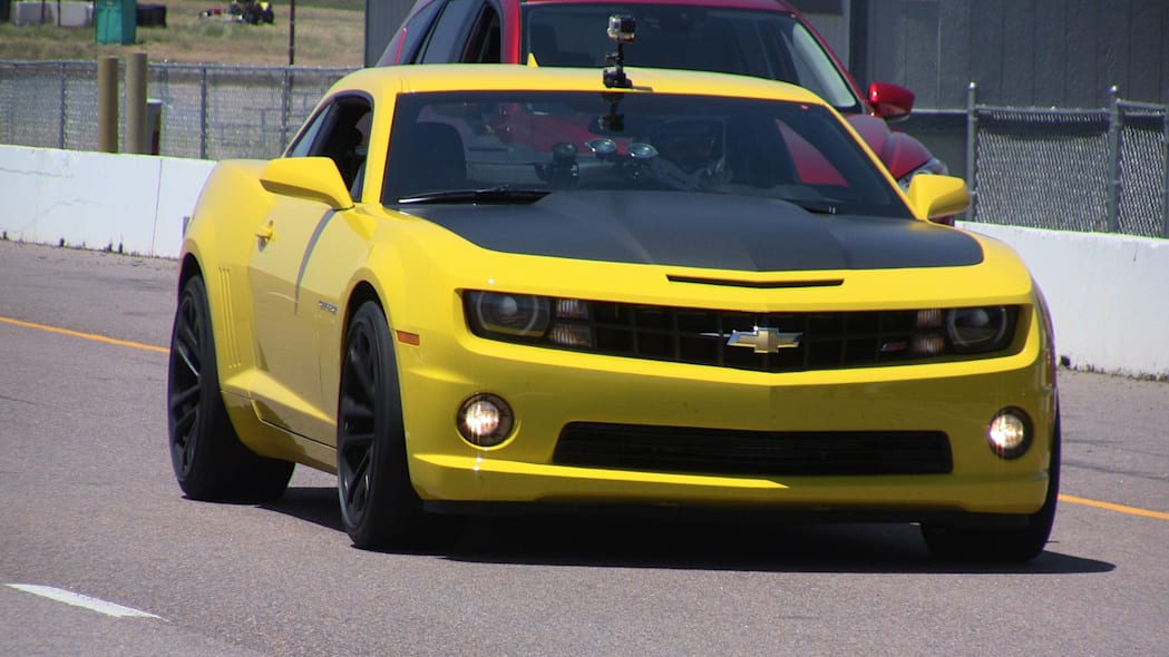 Race Track Review #2: 2013 Chevy Camaro SS 1LE