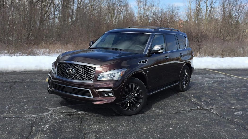 2015 Infiniti QX80 Limited Package Exterior | Autoblog Short Cuts