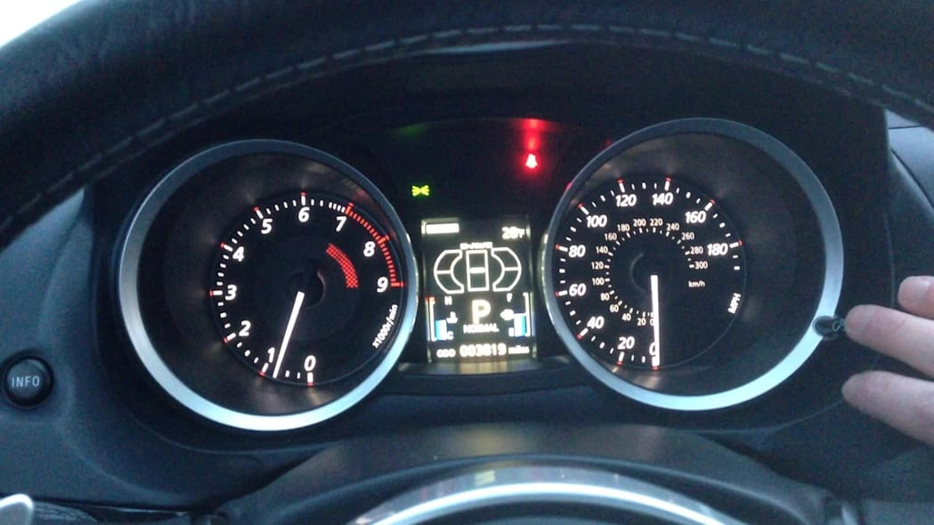 2015 Mitsubishi Lancer Evolution MR Gauge Cluster | Autoblog Short Cuts