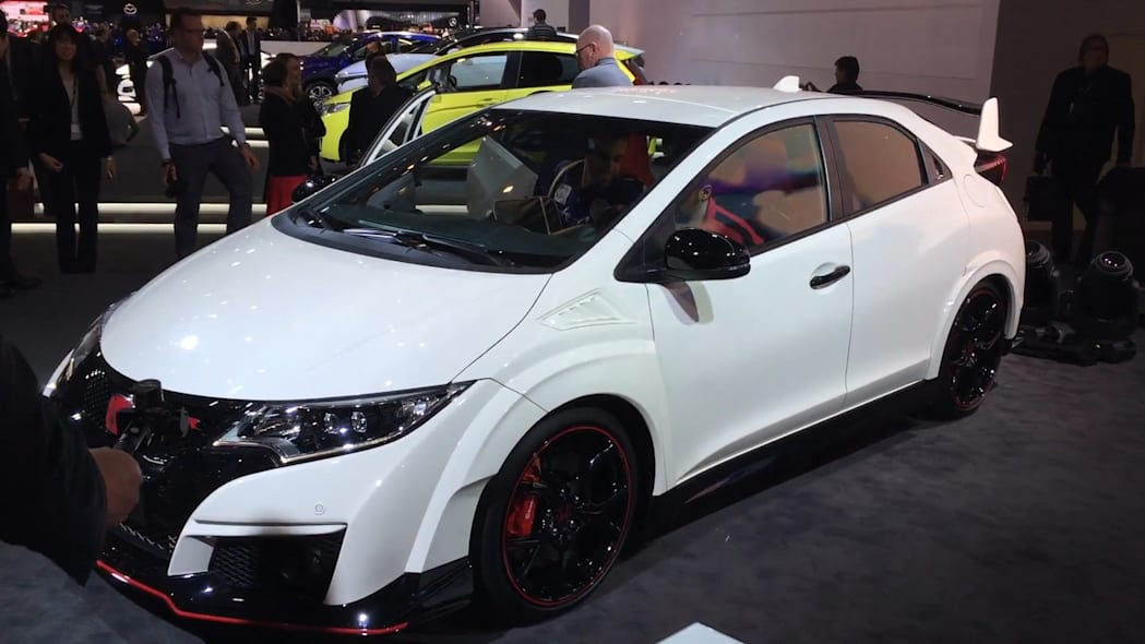 Honda Civic Type R | 2015 Geneva Motor Show | Autoblog Short Cuts