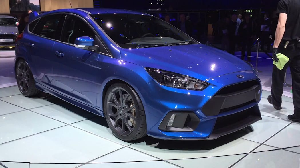 2016 Ford Focus RS | 2015 Geneva Motor Show | Autoblog Short Cuts