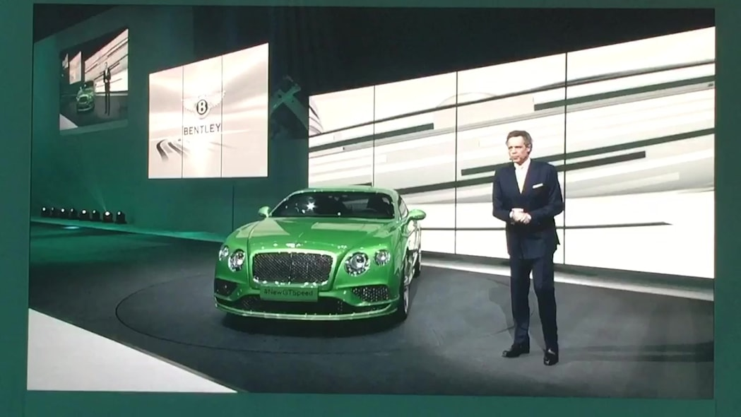 2016 Bentley Continental GT Facelift Debut | Autoblog Short Cuts