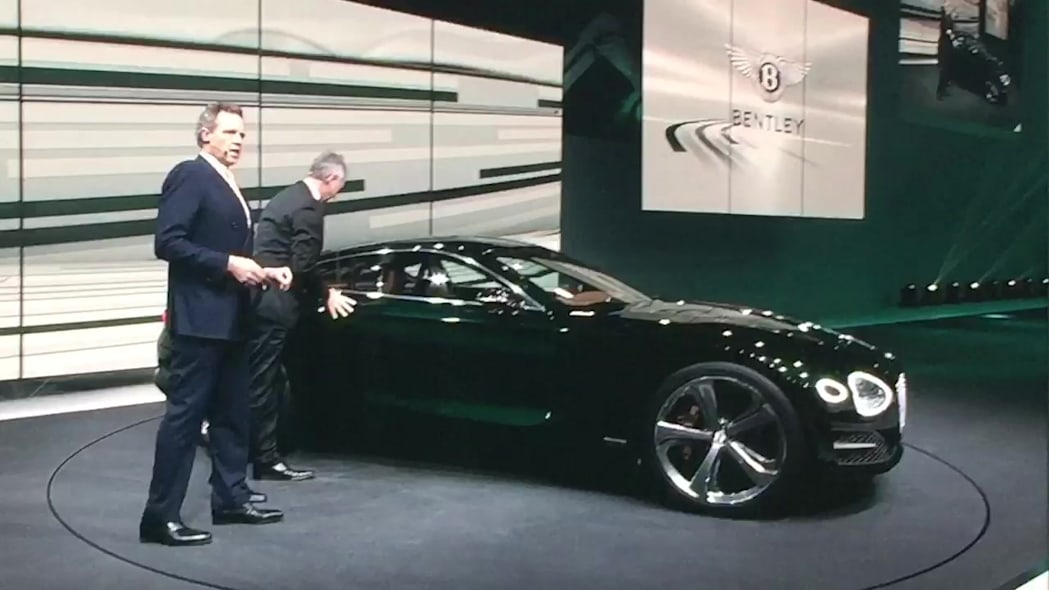 Bentley EXP 10 Speed 6 Debut | Autoblog Short Cuts