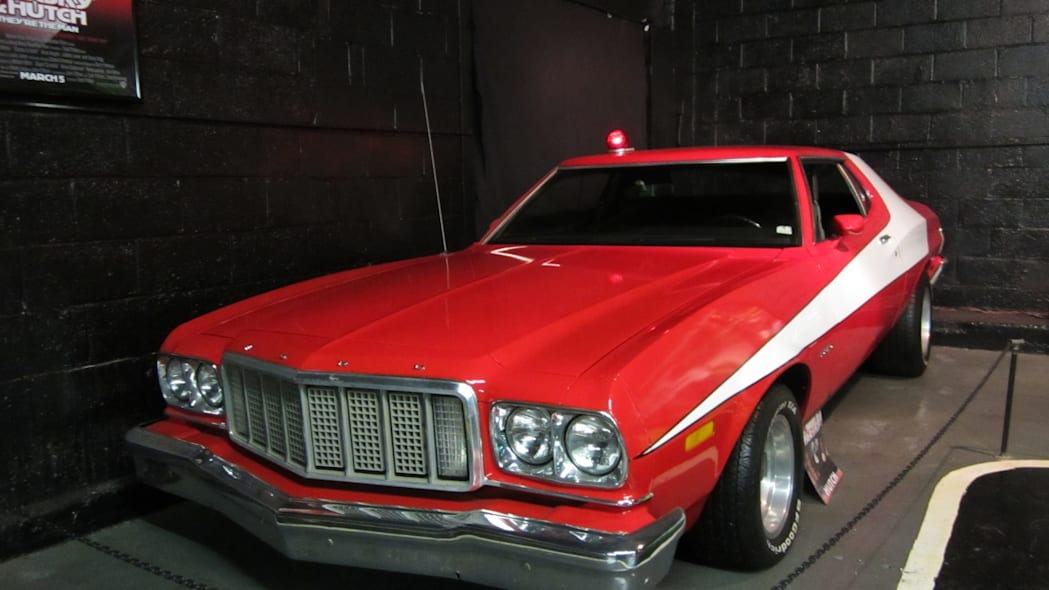 "Ford Gran Torino ""Striped Tomato"" from Starsky and Hutch"