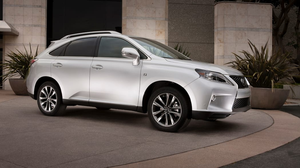Best Luxury 2-Row SUV For Families: Lexus RX 350
