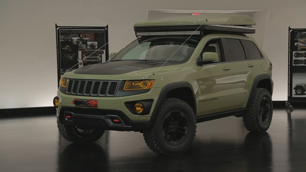 2015 Easter Jeep Safari Concepts: Jeep Grand Cherokee Overlander