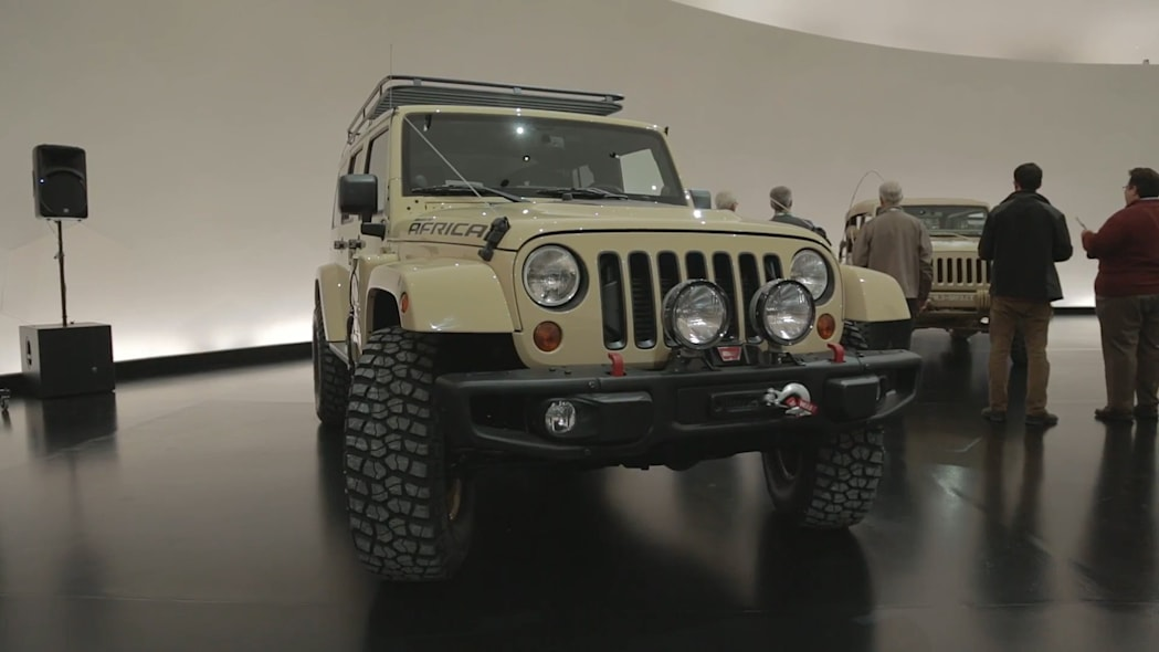 2015 Easter Jeep Safari Concepts: Jeep Wrangler Africa